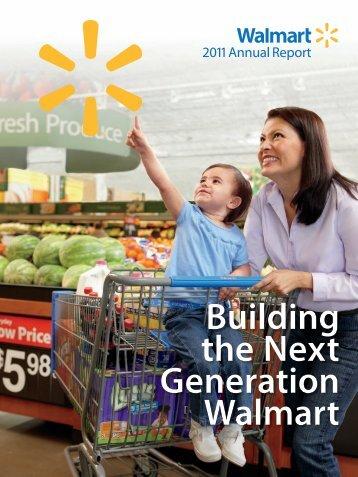 Financial Report - Wal-Mart