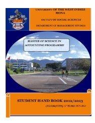 Handbook - Uwi.edu