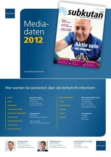 Media- daten 2012 - Kirchheim-Verlag