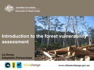 This presentation - National Climate Change Adaptation Research ...