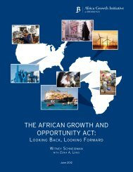 the african growth and opportunity act - TradeMark Southern Africa
