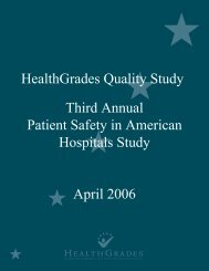 Third Annual Patient Safety in American Hospitals Study April 2006 ...