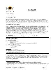 Medicaid - MFY Legal Services