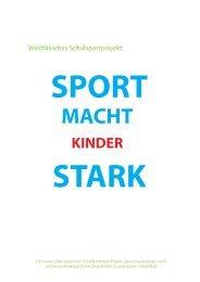Sport macht Kinder stark - Johanneshilfswerk International eV