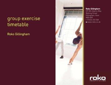 Gill on-line studio - Roko Health Clubs
