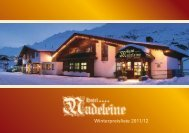Download Preisliste 2011/12 (pdf) - Hotel Madeleine