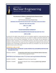 The University of California at Berkeley Nuclear Research Center ...