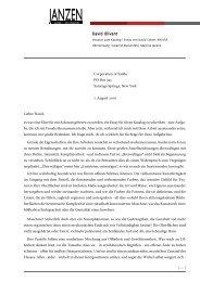 Essay von David Cohen, NY/USA (PDF) - JANZEN Galerie