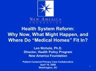 """""""Medical Homes"""" Fit In? - About Medical Home - Patient-Centered ..."""