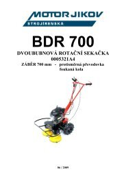 BDR700 5321A4 v8 06 2009 - motor jikov group