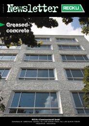 Creased- concrete - RECKLI GmbH: Home
