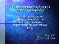 inf. Chiara Sanvito - Ipasvi