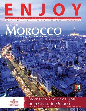 MOROCCO - EnjoyAccra