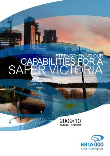 Annual Report 2009/10 - Emergency Services Telecommunications ...