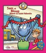 Sam et Bloup fêtent la Saint-Valentin (1,17 Mo - 14 pages)