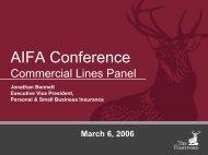 AIFA Conference - The Hartford