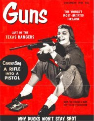 GUNS Magazine December 1955 - Jeffersonian's Home Page