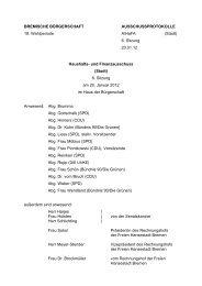 Protokoll der 6. Sitzung am 20. Januar 2012 (pdf, 34.6 KB) - HaFa