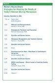WOMEN'S HEALTH UPDATE - CME Activities - Page 4