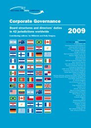 Corporate Governance - Kluge