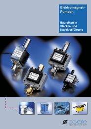 Elektromagnet-Pumpen - Eckerle Industrie-Elektronik GmbH