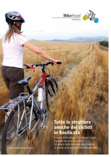 Tutte le strutture amiche dei ciclisti in Basilicata - APT Basilicata