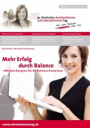 Mehr Erfolg durch Balance - management-praxis.de