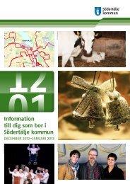 Informationsbladet december 2012/januari 2013 - Södertälje kommun
