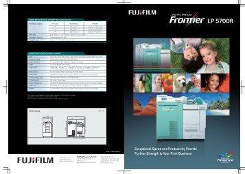 Frontier LP5700R Brochure