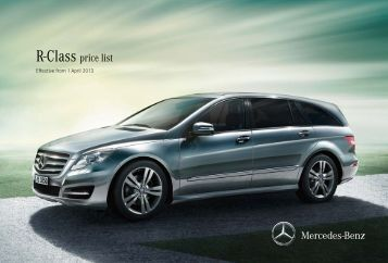70 free magazines from mercedes benz media co uk for Mercedes benz list price