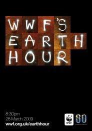 8:30pm 28 March 2009 wwf.org.uk/earthhour - WWF UK