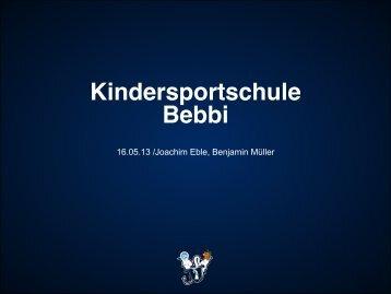 Kindersportschule Bebbi - FC Basel