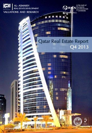 Qatar Real Estate Market Report Q4 13