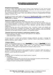 modulo d'iscrizione - CastelBrando