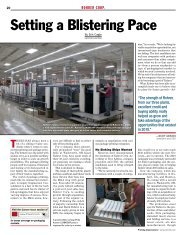 Case Study: Rohrer Corp: Setting a blistering pace - Ipex