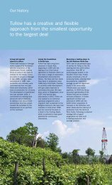 Download Download the Our History PDF - Tullow Oil plc