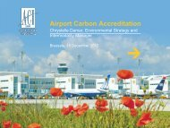 The Airports Carbon Accreditation - DAIR Project