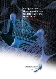 Energy efficient IT and infrastructure for data ... - PrimeEnergyIT