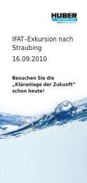 Exkursion zur Kläranlage Straubing