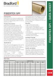 Fibertex SPI - Insulation Industries