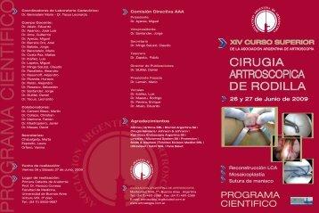 Dr. Tacus Leonardo - Asociación Argentina de Artroscopía