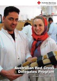 Australian Red Cross Delegates Program
