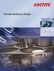 Porosity Sealing by Design - Loctite.ph