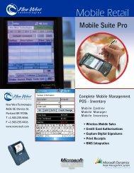 Mobile Suite Pro - New West Technologies