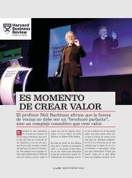 Es momento de crear valor (hBRAL). Revista Ekos ... - Ekos Negocios
