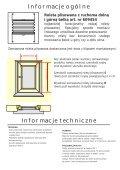 Instrukcja montażu rolety plisowanej mocowanej na ... - Gardinia - Page 2