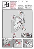 Instrukcja montażu rolety plisowanej mocowanej na ... - Gardinia - Page 5