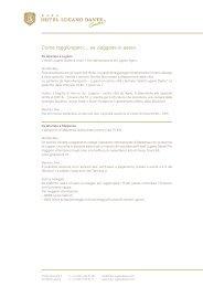 Maggiori informazioni - Hotel Lugano Dante