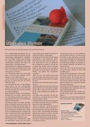 Über den Humor - Birseck Magazin