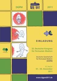 2011 DGPM EINLADUNG - Österreichische Gesellschaft für ...